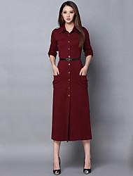 Vestido a medida minimalista de incern®women