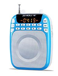 Loudspeaker Voice Amplifier Megaphone USB TF Support MP3 Voice Recording Large Power SHIDU S368