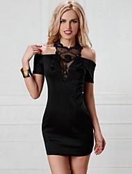 Halfter sexy Hohlspitzenrock Paket hippe Mode clubwear Evas night®women der