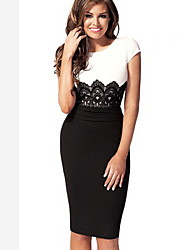 Women's Dresses , Lace Bodycon/Casual Uyina