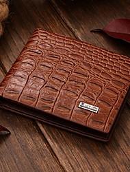 Men 's Fashion High Quality Casual Fashion Genuine Leather  Wallet