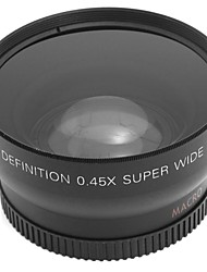 52MM Wide Angle Lens for Mini DV & DVD Camera