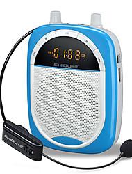 Loudspeaker Voice Amplifier Megaphone 2.4G Wireless for Teacher & Toue Guide TF Support USB MP3 AUX REC SHIDU S610