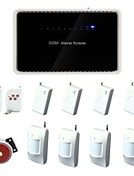 6 Wireless ZoneHome Wireless Intellignet GSM Alarm System