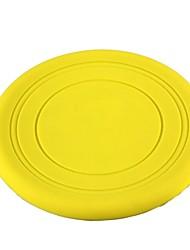 brinquedo treinamento estilo do frisbee para animais de estimação Cães Gatos (1 peça amarela)