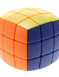 HE SHU New Stickerless Bread Type Smooth 3x3x3 Magic Cube