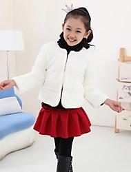 Girl's Faux Fur/Wool Blend Jacket & Coat , Winter/Fall Long Sleeve