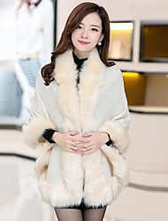 Zian® Women's Loose Fashion Fox Fur Outerwear
