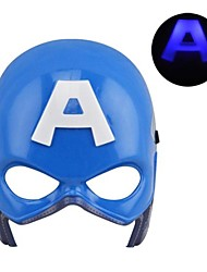 lumineux froid led masque captain america pour Halloween