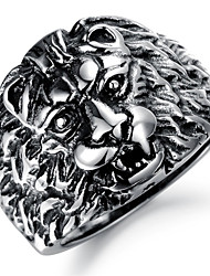 Domineering Lion King Gentleman Personality Ring Christmas Gifts