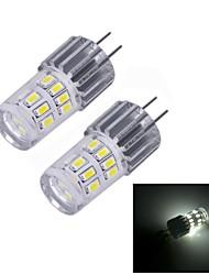 Luces de Doble Pin G4 W 24 SMD 3014 140 LM 6000~6500 K Blanco Fresco DC 12 V