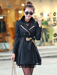 Women's New Design Fashion Slim Coat