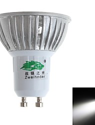 Zweihnde GU10 3W 3 Dip LED 280-300 LM Natural White MR16 Decorative LED Spotlight AC 85-265 V