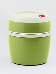 Regal® Double Wall S/S Vacuum Food Container 1200ml (4 Assorted Colors:Green\Blue\Orange\Yellow)