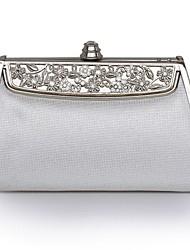 Casamento de couro / garras ocasião especial / bolsas noite com metais