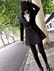 Ответить женской моды красивый балахон драп пальто