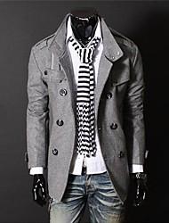 la mode haut de gamme pardessus des hommes
