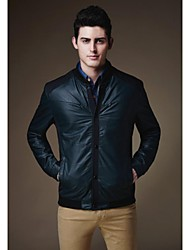 Men's Slim Cut Fasion Stand Collar Jacket