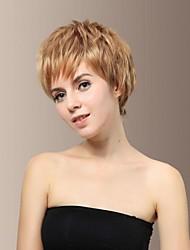 High Quality Smart Synthetic Japanese Kanekalon Hair Fashionable Short Blonde Hair Wig