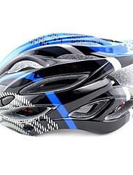 ungrol 23 aberturas eps + pc + azul preto integralmente moldado capacete ciclismo (54-64cm)