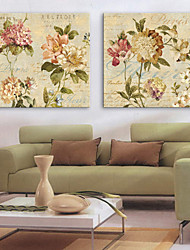 Stretched Canvas Art Floral Days Set of 2