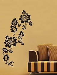 pared calcomanías pegatinas de pared, salón cita flor Decoración PVC pegatinas de pared