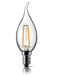 E14 1.8W 3000K 180LM Warm White Light Led Candle Bulb,Non-dimmable