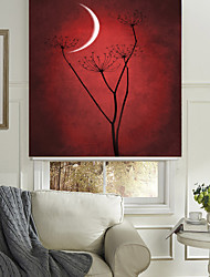 Silent Flower And Crescent Roller Shade