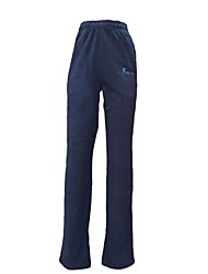 Quirell Brand Thermal Polyester Fleece Pants-Gray Blue Black