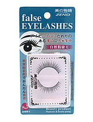 Zeno  False Eye Lashes (#01) 1 pair