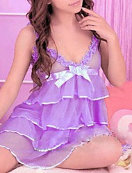 Women Babydoll & Slips Nightwear , Chiffon