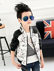 Boy'S Leather Jacket Coat
