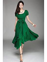 Pasen Women's Anomaly Long Dress