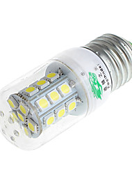 Zweihnder  E27 3W 320lm 6500K 27 x SMD 5050 Lamp LED White Light Corn Light (AC 220V)