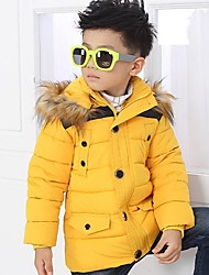 Boy's Polyester Down & Cotton Padded , Winter/Fall Long Sleeve