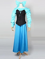 Lovely Little Mermaid Ariel Terylene Halloween Cosplay Costume