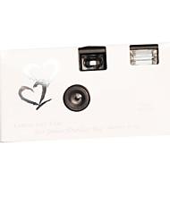 l'appareil photo de mariage jetable (dix-huit négatifs)