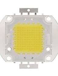 100w 9000Lm 3000k warm wit led-chip (30-35v)
