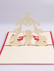 Praying Angel Dimensional Christmas Cards