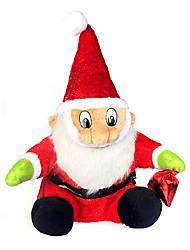 51cm merry christmas haute ornement père noël, le flocage et de tissus
