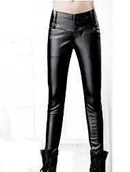 Women PU Pants