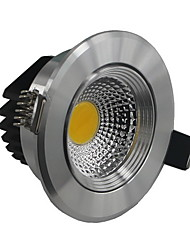 5W Lâmpada de Teto Encaixe Embutido 1 COB 500-550 lm Branco Quente / Branco Frio AC 85-265 V
