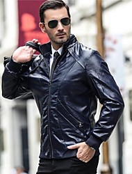 Men's Fashion Motorcycle Leather Clothing
