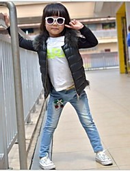Girl's Denim Jeans , Winter/Spring/Fall