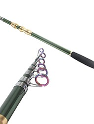 Canna da casting - Pesca di mare - di Carbonio - Verde M Asta