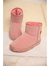 Zikafu New Candy Color Short Snow Boots  Pink