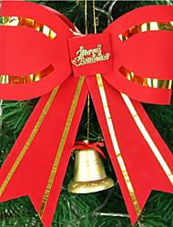 bowknot rosso albero di Natale decorazione