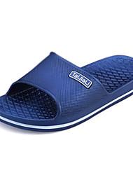 Chaussures Hommes - Décontracté - Noir / Bleu / Gris - PVC - Chaussons
