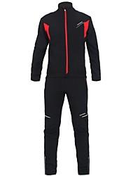 KOSHBIKE / KORAMAN® Fahrradhose mit Jacke Herrn Langärmelige FahhradWasserdicht / Atmungsaktiv / warm halten / Windundurchlässig /