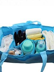 couleur unie multifonctionnel maman sac à main non-tissé des femmes